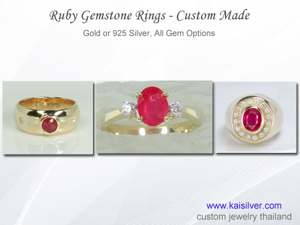 ruby ring collection rings with ruby
